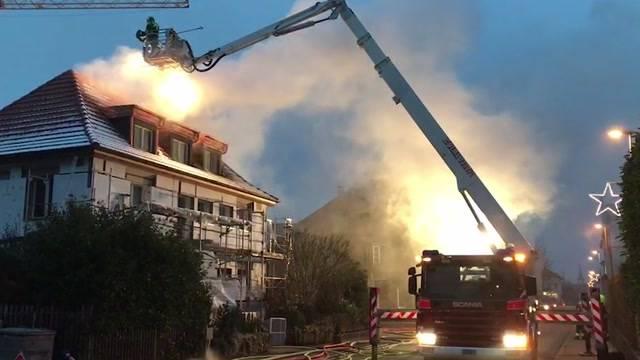 Brand in Gerlafingen