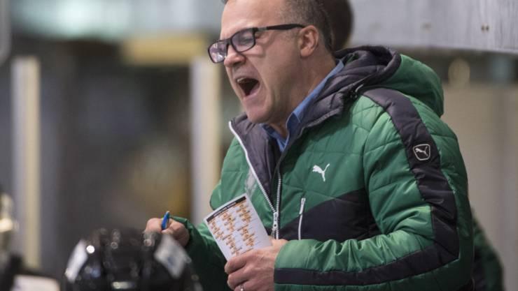 Oltens Coach Maurizio Mansi kann fürs Erste aufatmen