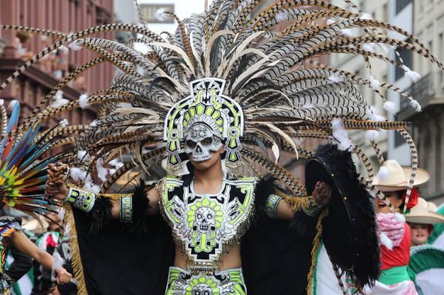 Die Banda Monumental aus Mexiko.