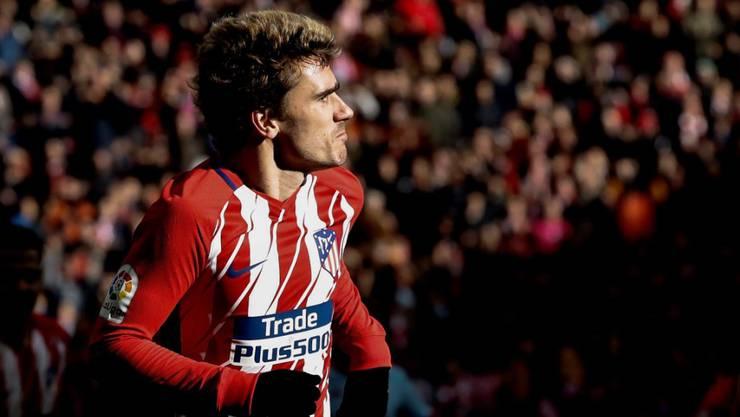 Eröffnete beim 3:0 gegen Celta Vigo das Skore für Atlético Madrid: der französische Stürmer Antoine Griezmann