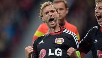 Simon Rolfes erzielte für Leverkusen das 1:0.