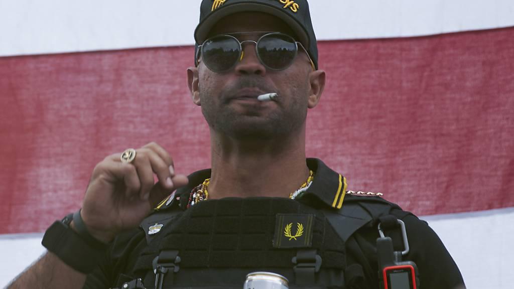 Anführer der rechtsradikalen «Proud Boys» in Washington verhaftet
