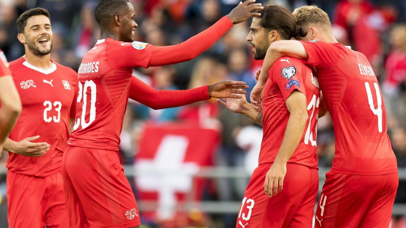 Schweiz schlägt Gibraltar 4:0