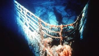 Teil des Titanic-Wracks (Archiv)