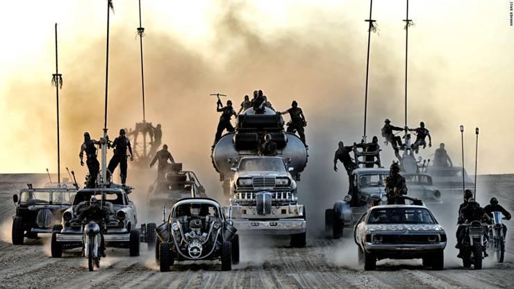 Wird das Wasser knapp und wir liefern uns einen Kampf bis aufs Blut in einer einzigen grossen Wüste wie in «Mad Max – Fury Road»?