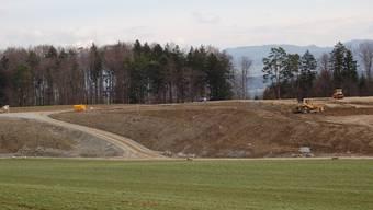 Die Deponie in Beinwil (Freiamt) ist in Kürze aufgefüllt. (es)