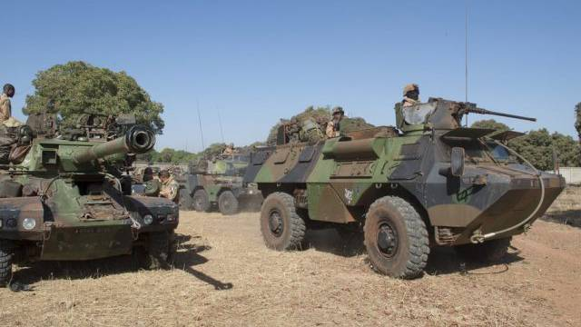 Französische Truppen unterstützten Malis Armee 2013 (Archiv)