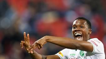 Dereck Kutesa hat auf diese Saison hin von St. Gallen in die französische Ligue 1 zu Stade Reims gewechselt