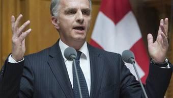 Aussenminister Burkhalter konnte sich im Nationalrat nicht durchsetzen