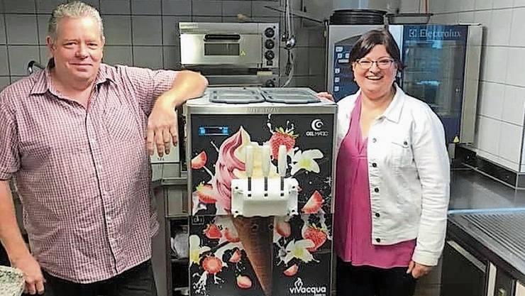 Die Haarbachs freuen sich über den Erfolg ihres Eis.