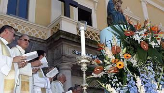 Gottesdienst zu Ehren der Madonna del Sasso in Locarno