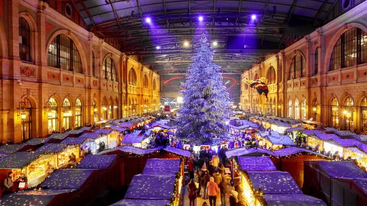 Weihnachtsmarkt Zürich.So Lukrativ Ist Die Halle Im Hauptbahnhof Für Die Sbb Zürich