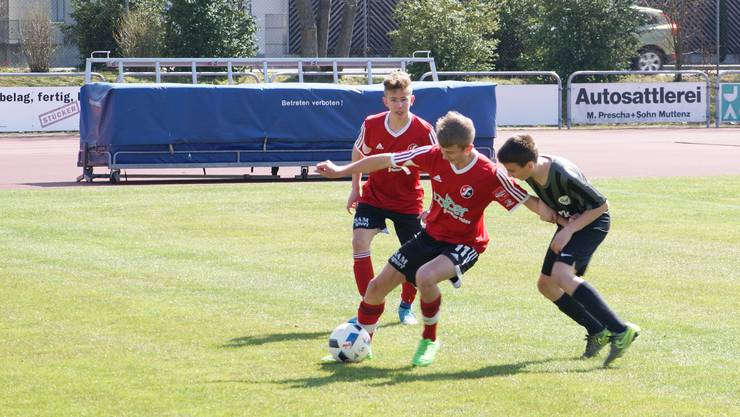 Der SV Muttenz (in rot) stiess im Vorjahr erstmals ins Final vor.