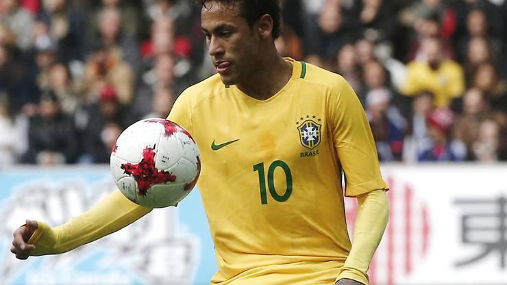 Hat die volle Bewunderung von Lucien Favre: Brasiliens Superstar Neymar