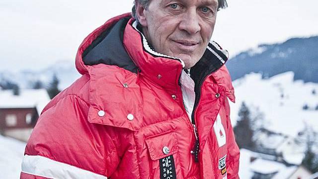 Bernhard Russi fuhr zwei Jahre lang Snowboard (Archiv)