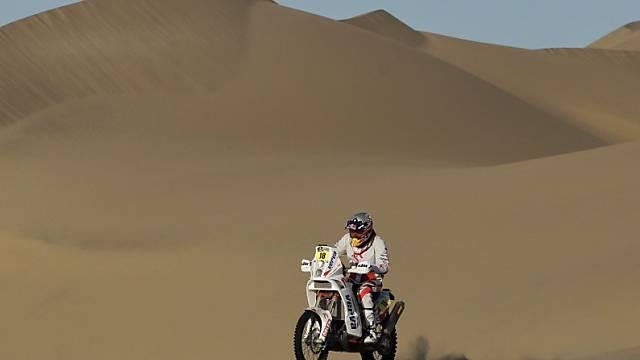 Bei der Rallye Dakar gab es bereits der dritte tödliche Unfall.