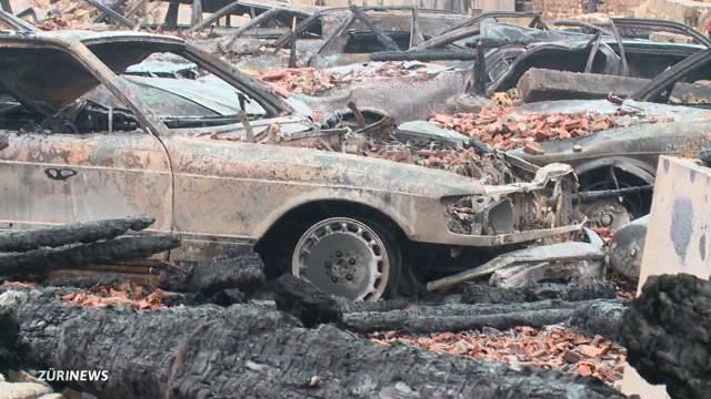 25 Oldtimer verbrannt