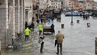 Schlechtes Wetter führte zu den Überschwemmungen.