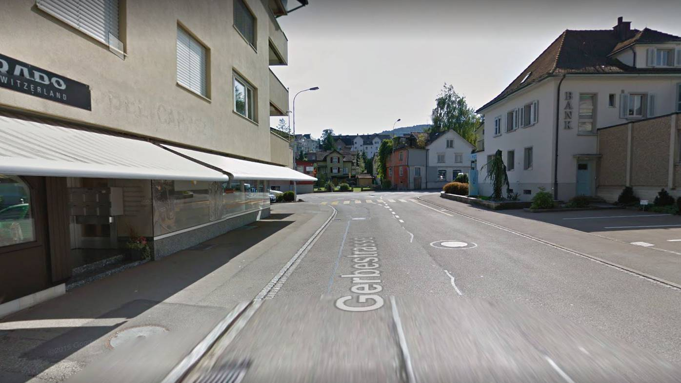 Die Räuber schlugen auf der Gerbestrasse in Oberuzwil zu.