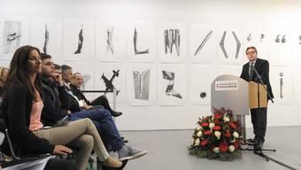 Preisverleihung der Jubiläumsstiftung der BLKB im Kunsthaus Baselland