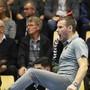 Kadettens Trainer Petr Hrachovec fiebert an der Seitenlinie mit