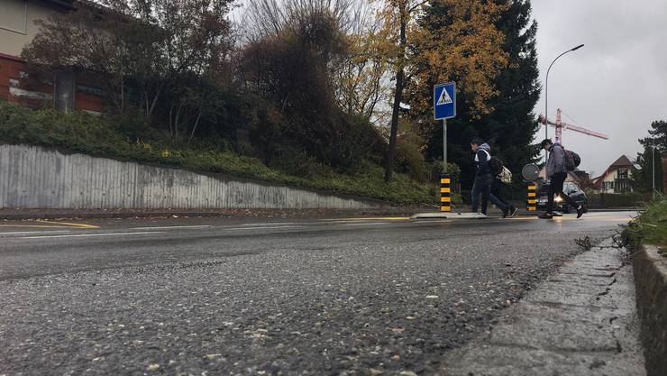 Die 19-jährige Frau wurde auf dem Fussgängerstreifen über die Hendschikerstrasse in Lenzburg von dem Auto erfasst.