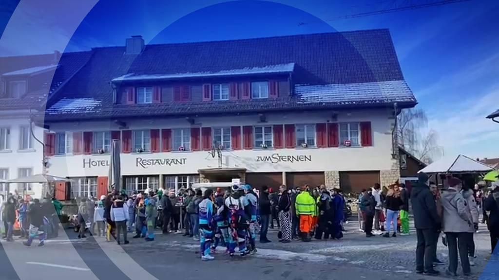 Trotz Verbot: In Würenlingen feiern rund 200 Personen Fasnacht