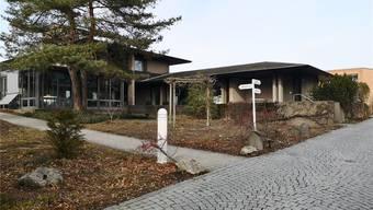 Hier stand die alte Zurlinden-Villa. Heute befindet sich im Neubau die Cafeteria. UHG