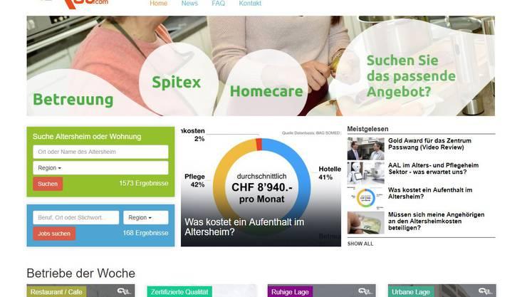 Der Vergleichsdienst «Orahou» bewertet Alters- und Pflegeheime. Entsprechend ist das Portal umstritten.