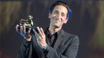 Stargast in Locarno: US-Schauspieler Adrien Brody (44) wurde am Filmfestival mit einem Ehrenleoparden ausgezeichnet. URS FLUEELER/Keystone