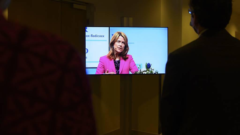 FDP-Präsidentin Gössi fordert klares Ausstiegsszenario