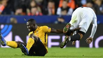 Sékou Sanogo grätscht künftig nicht mehr für YB, sondern für Al Ittihad aus Saudi-Arabien