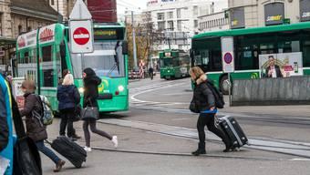 Centralbahnplatz - alternative Linienführung