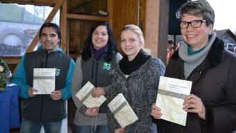 Beat Deubelbeiss, Andrea Stöckli, Melanie Keusch, Ursula Vanal (von links).