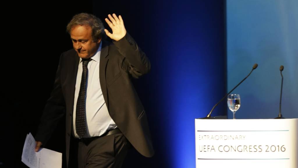 Verfahren gegen Blatter auf Platini ausgeweitet