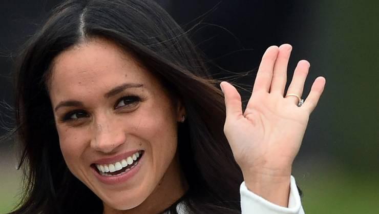 Ihren Blog hat sie bereits aufgegeben, nun will Meghan Markle für ihre Zukunft als Ehefrau von Prinz Harry auch die Schauspielerei an den Nagel hängen. (Archivbild)