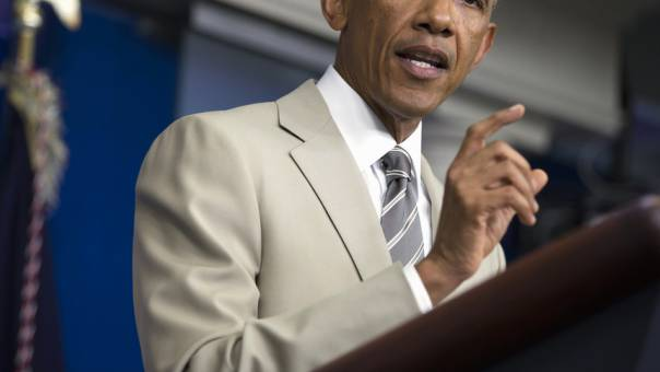 US-Präsident Barack Obama im Weissen Haus in Washington