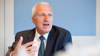 Abtritt nach 16 Jahren: Im September gibt Pierin Vincenz den Chef-Posten beim Raiffeisen-Verband ab.