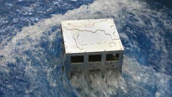 In einem 15,5 Meter langen Testkanal simulierte der Lausanner Forscher Davide Wüthrich unzählige Flutwellen auf ein Gebäude.