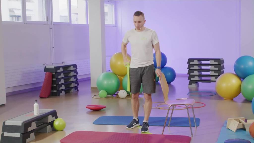 «Gymnastik im Wohnzimmer» vom 19. April 2021