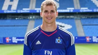 Die nächsten drei Jahre hält Andreas Hirzel die Fussbälle im Dress des Hamburger SV.