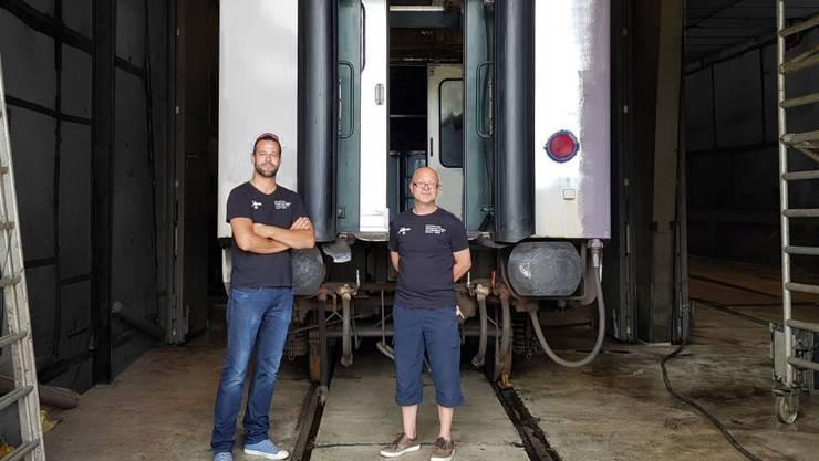 Der Verein HistoricSchlieren betreut das Erbe der Schweizerischen Wagons- und Aufzügefabrik AG Schlieren (SWS). Bild © ZVG