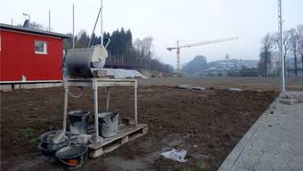 Es wird gebaut auf der Sportanlage Letten – und eine weitere Optimierung angestrebt, die nach dem Tunnelbau der Südwestumfahrung auch den Vereinen nützt.