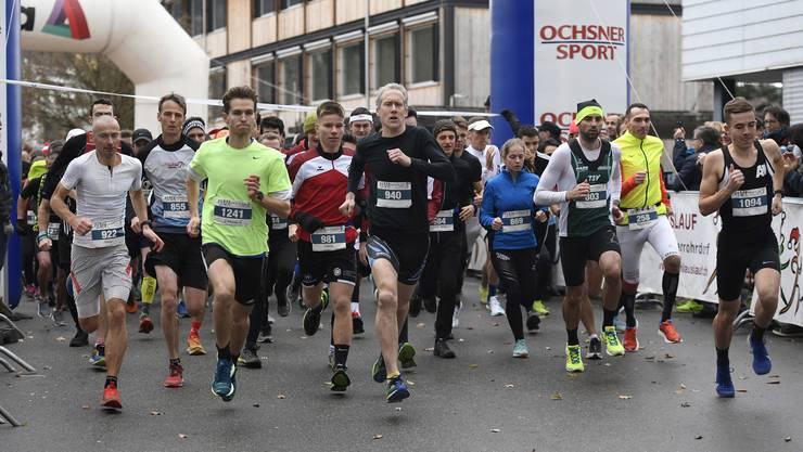Mit 1246 Làuferinnen und Läufern wurde die Rekordmarke von 1267 nur knapp verfehlt.