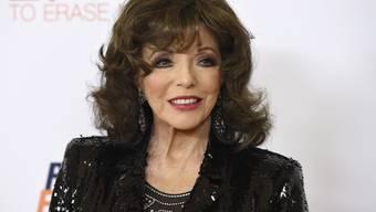 """Das nimmermüde """"Denver-Beast"""" Joan Collins feiert heute seinen 85. Geburtstag. (Archivbild)"""