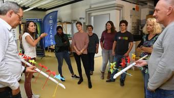 Windräder basteln für Lehrer und Lehrerinnen