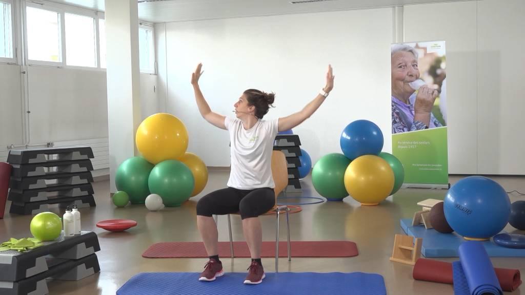 «Gymnastik im Wohzimmer» vom 26. März 2021