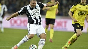 Spiel gegen die Armut in Bern: Zidane, Ronaldo und Co. locken Tausende Fans an