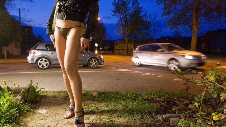 Prostituierte am Sihlquai an. (Archiv)