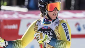 Kajsa Kling fuhr im vergangenen Februar im Super-G  in Crans-Montana auf Rang 6